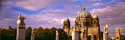 Exterior View Of The Berlin Dome Art Print by Panoramic Images
