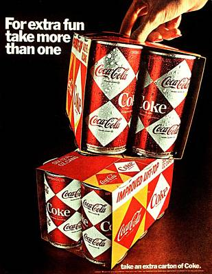 Coke Classic Photograph - Extra Fun by Benjamin Yeager