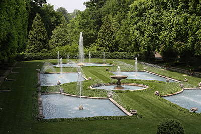Longwood Gardens Photograph - Extraordinary Fountains by Vadim Levin