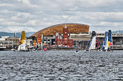 Extreme 40 At Cardiff Bay Art Print