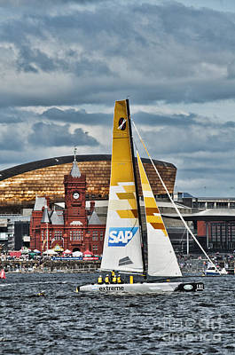 Photograph - Extreme 40 Sap Extreme Sailing Team by Steve Purnell