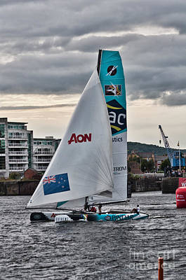 Photograph - Extreme 40 Team Gac Pindar by Steve Purnell