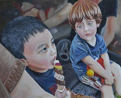 Painting - Extreme Desire by Gertrudes  Asplund