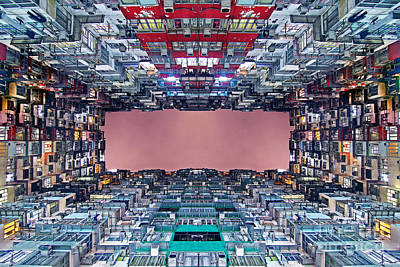 Extreme Housing In Hong Kong Print by Lars Ruecker