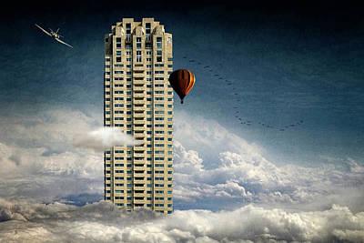 Skyscrapers Wall Art - Photograph - Extreme Skyscraper by Ben Goossens