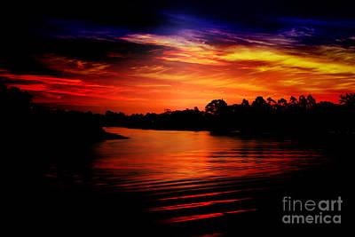 Extreme Sunrise Art Print by Wagner WM