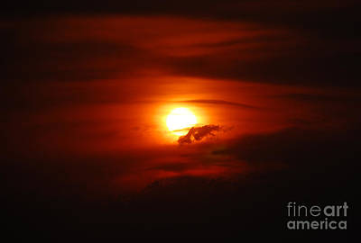 Photograph - Extreme Sunset by Debra Thompson