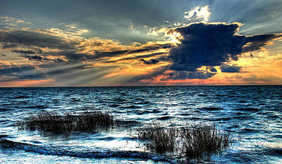 Extreme Sunset - Outer Banks Art Print