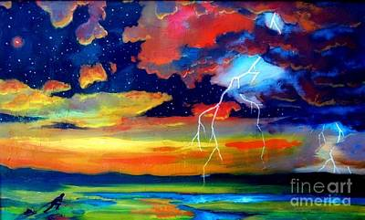 Extreme Weather Painting - Extreme Weather by John Malone