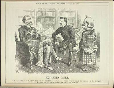 Extremes Meet Art Print by British Library