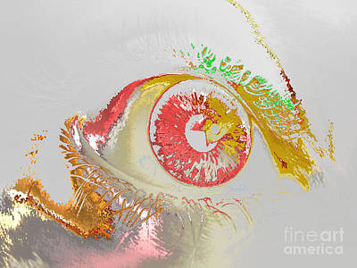 Digital Art - Eye 2 by Soumya Bouchachi
