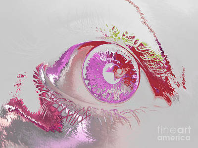 Digital Art - Eye 3 by Soumya Bouchachi