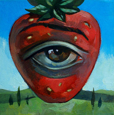 Eye Berry Art Print by Filip Mihail