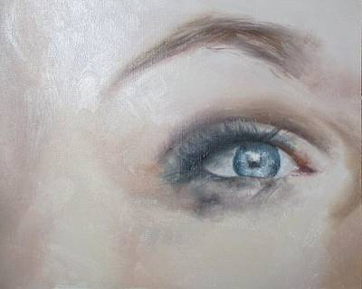 Eye Brows Painting - Eye by Cherise Foster