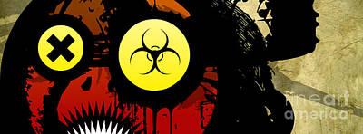 Resident Evil Digital Art - Eye For The Apocalypse by Jeff Danos