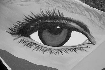 Photograph - Eye Has It In Black And White by Rob Hans