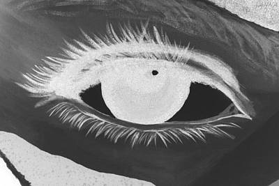Photograph - Eye Has It In Negative by Rob Hans