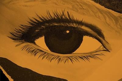 Photograph - Eye Has It In Orange by Rob Hans
