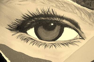 Photograph - Eye Has It In Sepia by Rob Hans