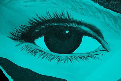 Photograph - Eye Has It In Turquoise by Rob Hans