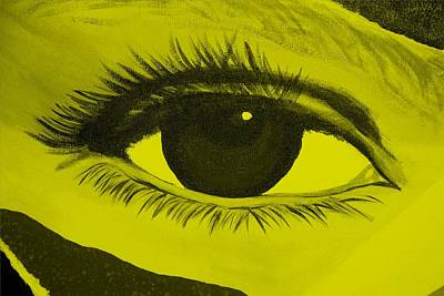 Photograph - Eye Has It In Yellow by Rob Hans