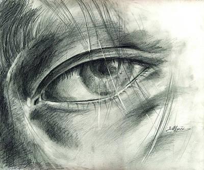Drawing - Eye by Hiroko Sakai