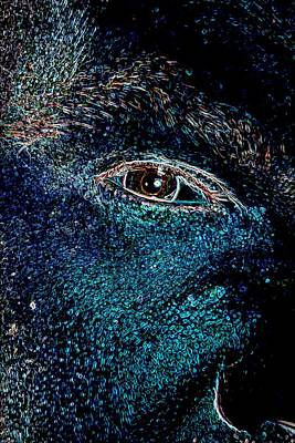 Eye In Space Art Print by James Potts