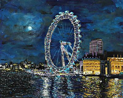 Painting - Eye In The Sky by Joel Tesch