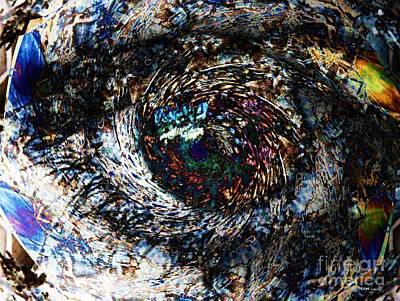 Eye Of A Hurricane Called You Art Print by Elizabeth McTaggart