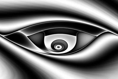 Eye Of A Stranger No. 1 Print by Mark Eggleston