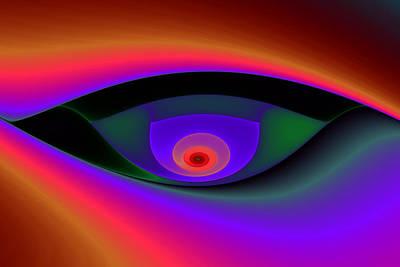 Eye Of A Stranger No. 2 Print by Mark Eggleston