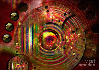 Digital Art - Eye Of Machinery by Alexa Szlavics