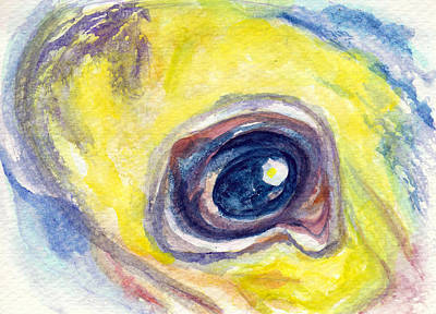 Painting - Eye Of Pelican by Ashley Kujan