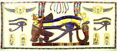 Wadjet Photograph - Eye Of Ra Wadjet by Mary Deal