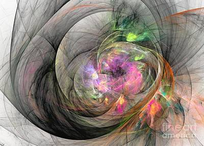 Digital Art - Eye Of The Beauty by Sipo Liimatainen