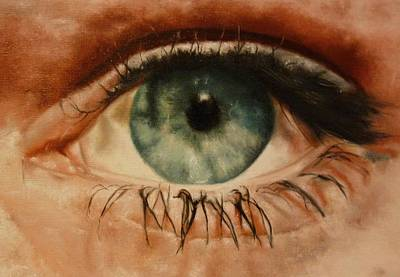 Painting - Eye Of The Beholder by Cherise Foster
