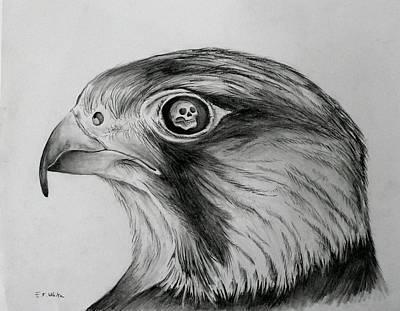 Eye Of The Beholder Art Print by E White