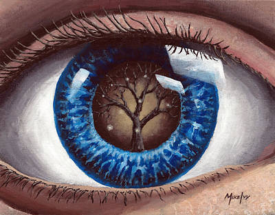 Painting - Eye Of The Beholder by Michael Ivy