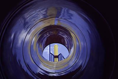 Daysray Photograph - Eye Of The Slide by Fran Riley