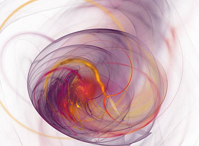 Diffusion Digital Art - Eye Of The Storm by Mark Bowden