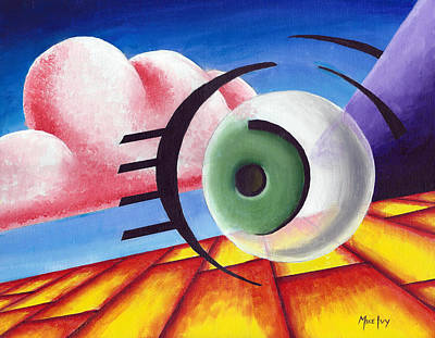 Painting - Eye Of Wassily by Michael Ivy