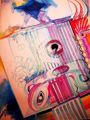 Eye On Art Art Print