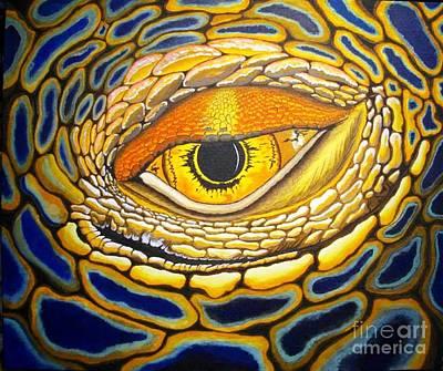 Eye On You Art Print by Barry Bridges