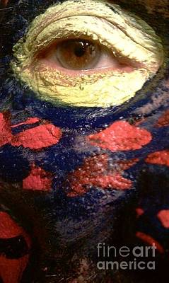 Photograph - Eye See Colors Of Mardi Gras New Orleans Louisiana Usa by Michael Hoard