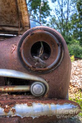 Photograph - Eye Socket by Rick Kuperberg Sr