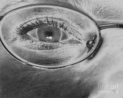 Drawing - Eye Spy by Tlynn Brentnall