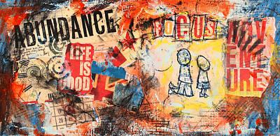 Finance Mixed Media - Eye To Eye by Art  McCracken