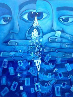 Eye To Eye  Original by Cyndi Esenwein