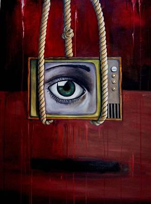 Eye Witness Art Print by Leah Saulnier The Painting Maniac