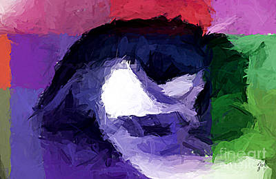 Art Print featuring the digital art Eye by Zedi